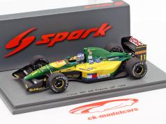 Mika Häkkinen Lotus 107 #11 4th Frankreich GP Formel 1 1992 1:43 Spark