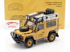 Land Rover Defender 90 Camel Trophy Edition fauve 1:18 Almost Real