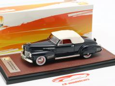 Cadillac Series 62 converteerbaar Closed Top Bouwjaar 1941 donkerblauw 1:43 GLM