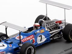 Jackie Stewart Matra MS10 #7 победитель ЮАР GP чемпион мира F1 1969 1:43 Spark