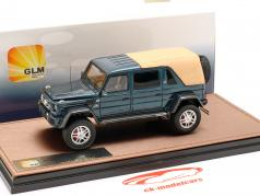 Mercedes-Benz Maybach G650 Landaulet Closed Top année de construction 2017 bleu métallique 1:43 GLM