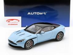 Aston Martin DB11 クーペ 築 2017 ライトブルー メタリック 1:18 AUTOart