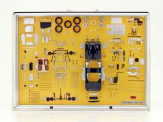 Model Art CMC Jaguar C-Type año de construcción 1952 componentes visualización 1:18 CMC