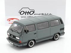 Porsche B32 basé sur VW T3 bus année de construction 1985 gris de tungstène métallique 1:18 OttOmobile