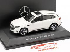 Mercedes-Benz EQC 400 4MATIC (N293) année de construction 2019 blanc polaire 1:43 Spark