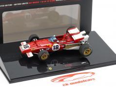 J. Ickx Ferrari 312B #18 GP du Canada de Formule 1 1970 1:43 HotWheels Elite