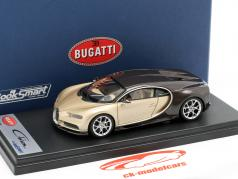 Bugatti Chiron Geneva Motor Show 2016 guld / brun 1:43 LookSmart