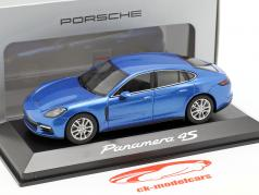 Porsche Panamera 4S (2. Gen.) Año 2016 zafiro azul metálico 1:43 Herpa