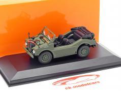 Porsche 597 chasse voiture année de construction 1954 olive 1:43 Minichamps