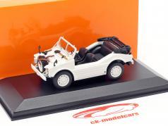 Porsche 597 caccia auto anno di costruzione 1954 bianco 1:43 Minichamps