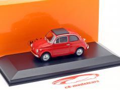 Fiat 500 L ano de construção 1965 vermelho 1:43 Minichamps
