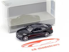 BMW M4 coupé année de construction 2015 noir métallique 1:87 Minichamps