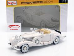 Mercedes Benz 500K Special Roadster Bj 1936 white 1:18 Maisto