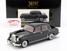 Mercedes-Benz 220 S sedan (W180II) ano de construção 1956 preto 1:18 KK-Scale