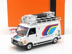 Citroen C35 Peugeot Talbot Sport Rallye Assistance anno di costruzione 1985 bianco 1:18 Ixo