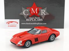 Ferrari 250 GTO Plain Body Version 1964 rood 1:18 CMR