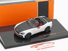 Fiat Abarth 124 Spider Turismo anno di costruzione 2017 bianco / nero 1:43 Ixo