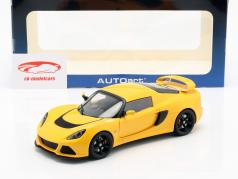 Lotus Exige S år 2012 gul 1:18 AUTOart