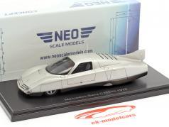 Mercedes-Benz C111-III Concept Car 1978 zilver 1:43 Neo