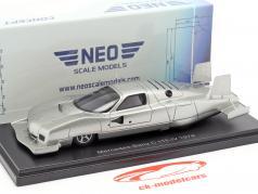 Mercedes-Benz C111-IV Concept Car 1979 silver 1:43 Neo
