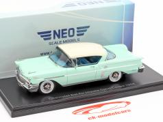 Chevrolet Bel Air Impala Sport coupé année de construction 1958 brillant vert / blanc 1:43 Neo