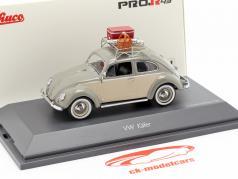 Volkswagen VW coléoptère Ovali pique-nique gris / beige 1:43 Schuco