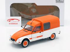 Citroen Acadiane Acaspot weiß / orange 1:18 Solido