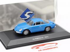 Alpine A110 Berlinette Baujahr 1973 blau 1:43 Solido