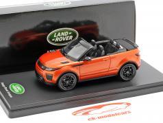 Land Rover Range Rover Evoque converteerbaar phoenix oranje 1:43 TrueScale