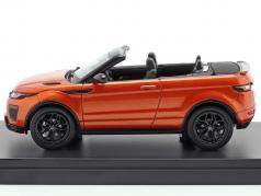 Land Rover Range Rover Evoque конвертируемый phoenix оранжевый 1:43 TrueScale