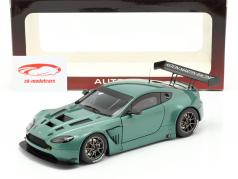 Aston Martin Vantage V12 GT3 Année 2013 vert métallique 1:18 AUTOart