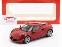 Alfa Romeo 4C anno 2013 Alfa porpora 1:18 AUTOart