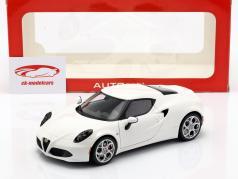 Alfa Romeo 4C anno 2013 bianco 1:18 AUTOart