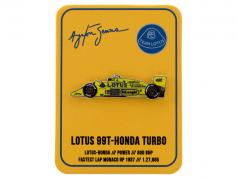Ayrton Senna pin 1 overwinning Monaco GP formule 1 1987
