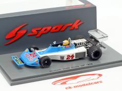 Harald Ertl Hesketh 308D #24 Niederlande GP Formel 1 1976 1:43 Spark