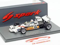 Brian Redman McLaren M19 #15 5th Monaco GP Formel 1 1972 1:43 Spark