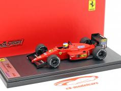 Michele Alboreto Ferrari F1/87 #27 3 Monaco GP formule 1 1987 1:43 LookSmart