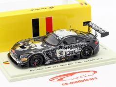 Mercedes-Benz AMG GT3 #90 24h Spa 2018 Akka ASP Team 1:43 Spark