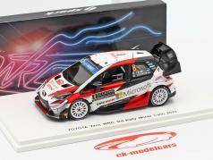 Toyota Yaris WRC #8 tercero Rallye Monte Carlo 2019 Tänak, Järveoja 1:43 Spark