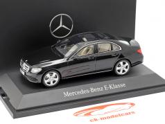 Mercedes-Benz E-Klasse W213 Avantgarde obsidian black 1:43 iScale