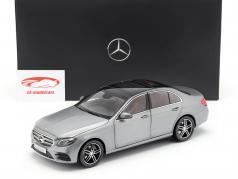 Mercedes-Benz E-Class (W213) AMG Line selenite gray 1:18 iScale