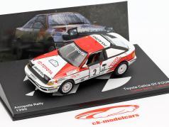 Toyota Celica GT-4 (ST165) #2 Winner Acropolis Rallye 1990 Sainz, Moya 1:43 Altaya