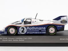 Porsche 956 K #2 vencedor 1000km Fuji 1983 Bellof, Bell 1:43 CMR