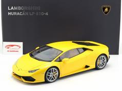 Lamborghini Huracan LP 610-4 ano 2014 amarelo 1:12 AUTOart