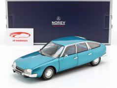 Citroen CX 2000 año de construcción 1974 Delta azul metálico 1:18 Norev