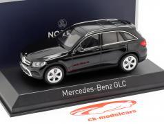 Mercedes-Benz GLC (X253) Baujahr 2015 schwarz 1:43 Norev