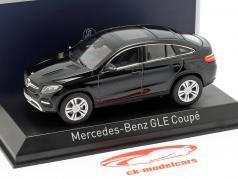 Mercedes-Benz GLE Coupe (C292) Baujahr 2015 schwarz 1:43 Norev