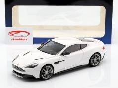 Aston Martin Vanquish 年 2015 ホワイト 1:18 AUTOart