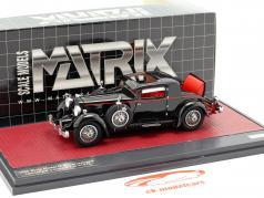 Stutz Model M Supercharged Lancefield Coupe Open Baujahr 1930 schwarz 1:43 Matrix