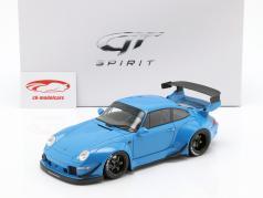 Porsche 911 (993) RWB blu 1:18 GT-SPIRIT